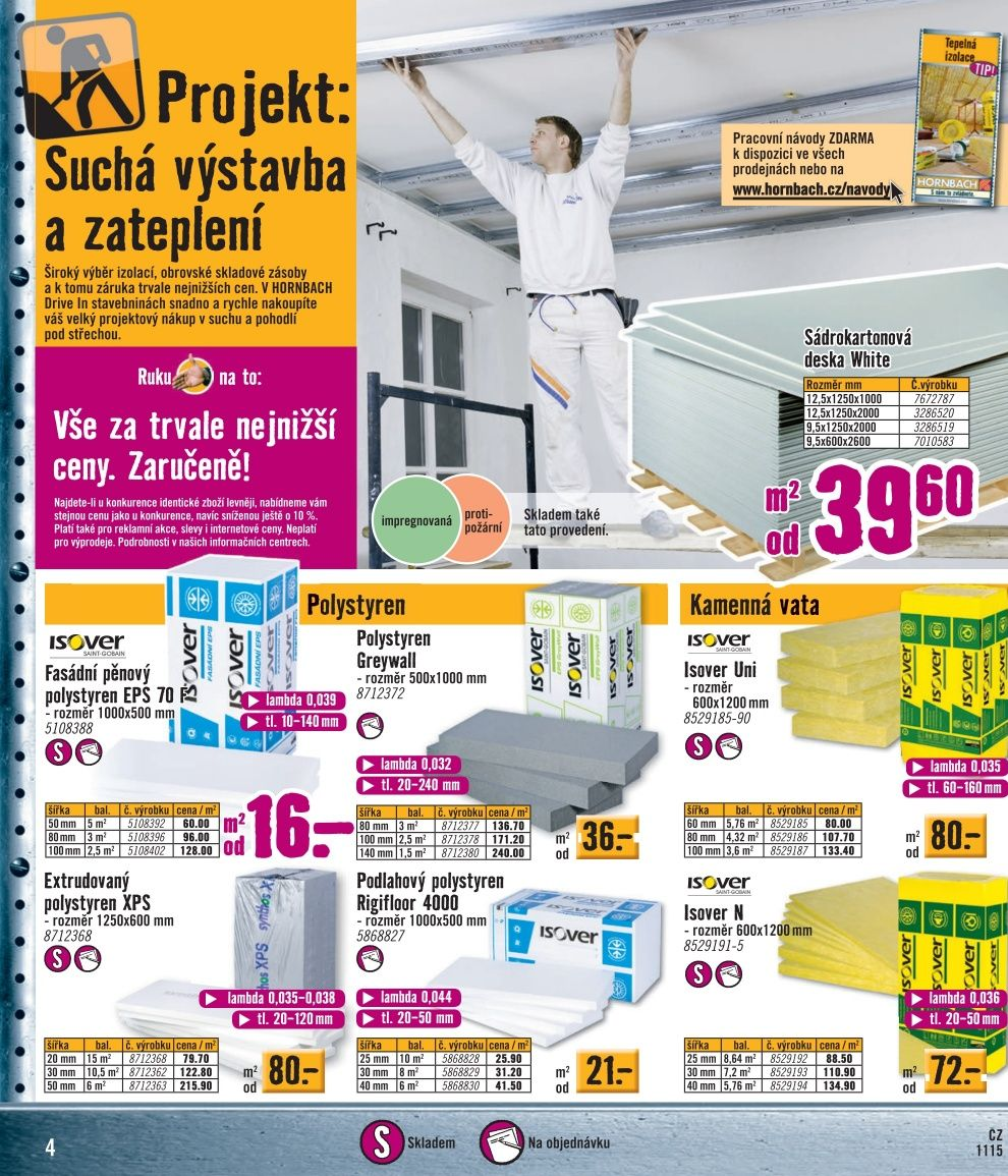 hornbach katalog sv tla a osv tlen strana 4 hornbach. Black Bedroom Furniture Sets. Home Design Ideas