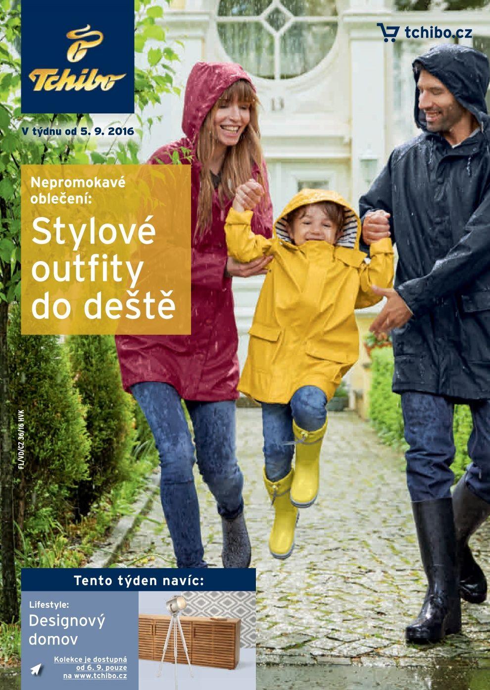 Tchibo nabídka - Stylové outfity do deště celý leták Tchibo eeada17155