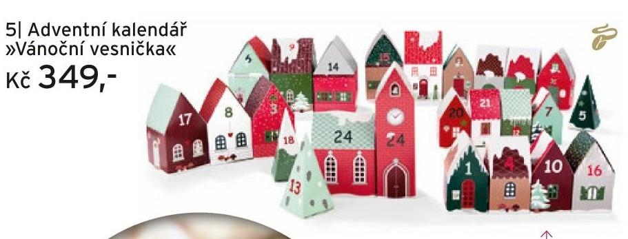adventni kalendar tchibo Adventní kalendář Vánoční vesnička v akci Tchibo od 7.11. 2016 adventni kalendar tchibo