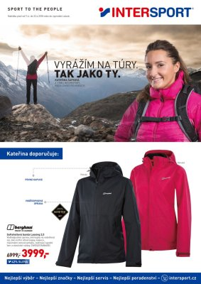 Intersport leták strana 1